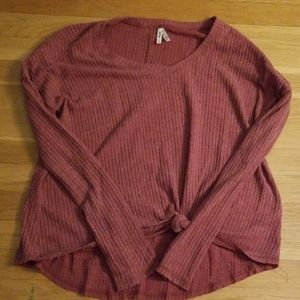 Dark Pink Sweater